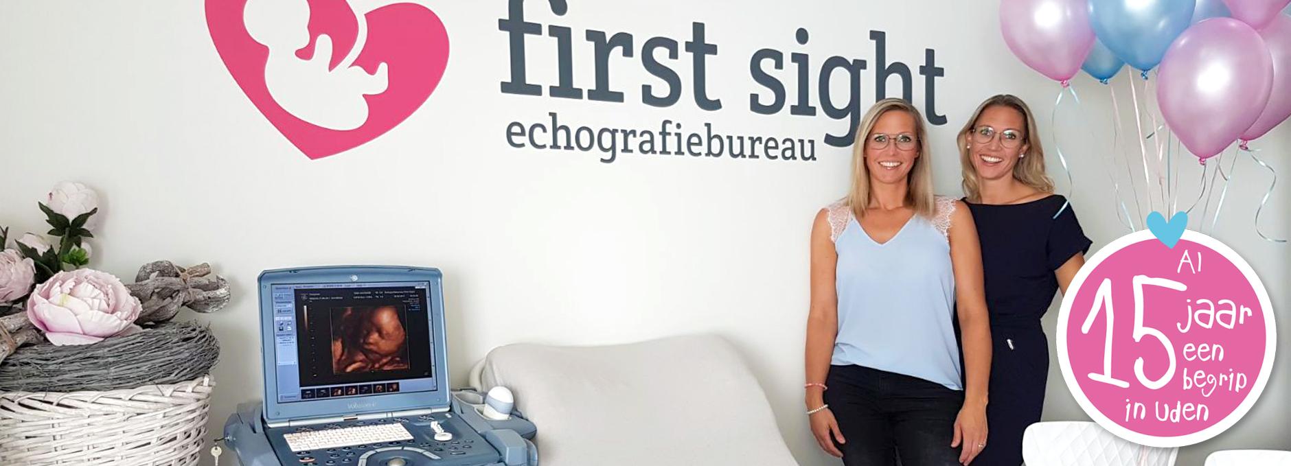 Echografiebureau First Sight uit Uden bestaat 15 jaar!
